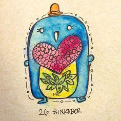 #inktober Day 26 • Pingüino :D