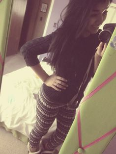 these winter leggings are great, but i cannot wait till i get my other two in the mail. (: