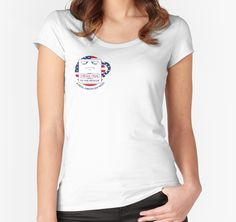 """""""MegaMug runs for President"""" Women's Fitted Scoop T-Shirts by Philg74   Redbubble"""
