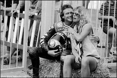 Barry Sheene - World Champion Motorcyclist - what a guy! Died March 10th 2003 aged 52 Tragic loss