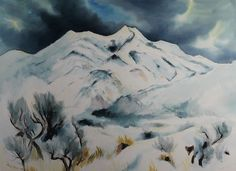 $9500 Winter Peace, Paintings by Gene Kloss