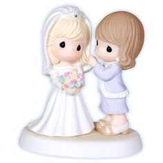 "Precious Moments Porcelain Figurine: ""My Daughter, My Pride, Such A Beautiful Bride"" $55.00"
