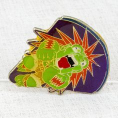 Street Fighter 2 Metal Pins Blanka Capcom Character JAPAN GAME 3
