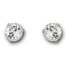 450f4760a Received these from my 2 children for Christmas. Beautiful, affordable  Solitaire Earrings, Diamond