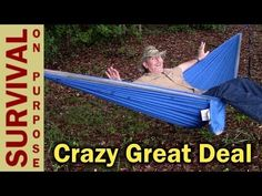 The Mersuii Double Hammock is one of the best deals I have seen on a hammock. It comes with tree straps and lightweight alloy wire gate carabiners and has a ...