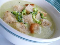 Brokolicovo karfiolová krémová polievka
