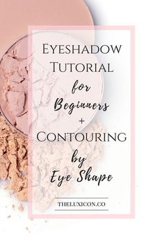 Eyeshadow for beginners. Pin now, practice later.