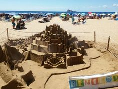 Sand Art in Benidorm