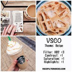 Beige Instagram Feed Using VSCO Filter HB2