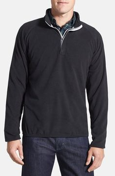 Men's Peter Millar 'Marseille' Quarter Zip Regular Fit Lightweight Fleece