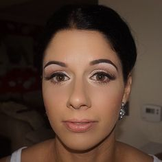 Just one more of the beautiful Claire  #lashes #sparklyeyes #makeupjunkie #makeuplover #makeupaddict #makeupgoals #makeupartist #makeupbyme #mac #makeup #mua #makeover #highlight #contour #brows #bride #bridal #bridalmakeup