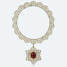 Buccellati Medievale Necklace. Materials:  Yellow Gold, White Gold, Pink Gold, Diamonds, Coral
