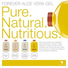 Think about chopping open an #Aloe leaf and consuming the gel straight from the source. #Forever #AloeVeraGel is as close to the real thing as you can get! http://link.flp.social/vZJp1V