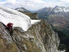 klettersteig.de - Klettersteig-Beschreibung - Schrabachersteig Dangerous Roads, Mount Everest, Mountains, Nature, Travel, Climbing, Naturaleza, Viajes, Destinations