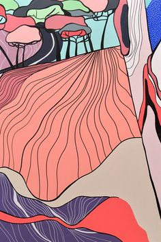 Surface Desgin | Painted Wall decor