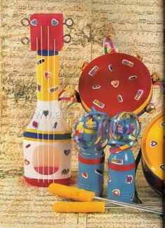 Atividades com Música e Instrumentos musicais - Educação Infantil - Aluno On