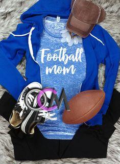 Football Mom Script Tee, Football Mom T-shirt, Football Mama Shirt, Ladies Football t-shirt- Eroded - One Crafty Momma Football Mom Shirts, Women's Football, Mama Shirt, T Shirt, Script, Crafty, Hoodies, Lady, Tees