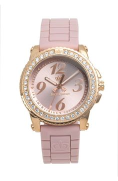 Juicy Couture 'Pedigree' Jelly Strap Watch available at #Nordstrom