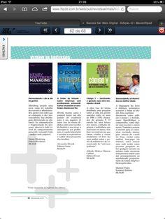 Elianete Vieira em Revista Ser Mais.