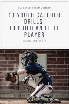 of the most challenging positions in baseball belongs to the catcher. It is both physically and mentally demanding. Use these 10 youth catcher drills to build an elite player. Softball Workouts, Softball Drills, Softball Coach, Fastpitch Softball, Girls Softball, Volleyball, Baseball Tips, Baseball Mom, Baseball Stuff