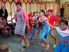 Traditional Dance - The Obama Family's Sweetest Moments