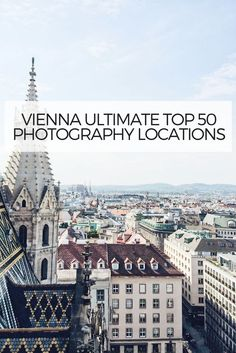 Discover Vienna's Top 50 photography locations, TOP wedding & Instagram photography spots, Many photography tips and recommendations how to capture the most iconic places in Vienna. Want to know some of the best spots in Vienna for photography and Instagram? In this post, I will tell you my top spots where you'll be able to capture perfect pictures to share with your friends and followers. I'll also provide various photography tips and recommendations for some of the spots.