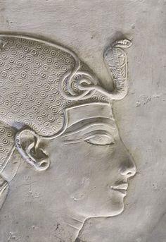 'Seti I in Horus Chapel at Abydos.'    Thi