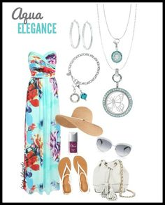 Floral Spring Outfit featuring Origami Owl  Origami Owl butterfly #origamiowl #oo #outfits