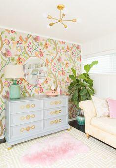 botanical nursery wallpaper | ★❤★ Trending • Fashion • DIY • Food • Decor • Lifestyle • Beauty • Pinspiration ✨ @Concierge101.com