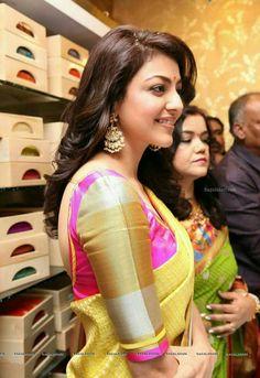 Beautiful Bollywood Actress, Most Beautiful Indian Actress, Indian Film Actress, Indian Actresses, Tamil Actress, Indiana, Indian Celebrities, Celebrities Fashion, Silk Saree Blouse Designs