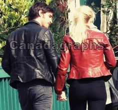 Colin O'Donoghue - Killian Jones -Captain Hook - Jennifer Morrison - Emma Swan - Captain Swan - Once Upon A Time