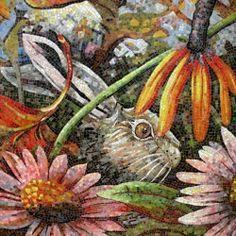 Dixie Friend Gay ~ Mosaic Bunny