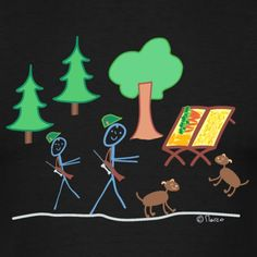 Kind Mode, Logos, Funny Stick Figures, Funny Shirts, Hound Dog, Dogs, Draw, Animals, Forests