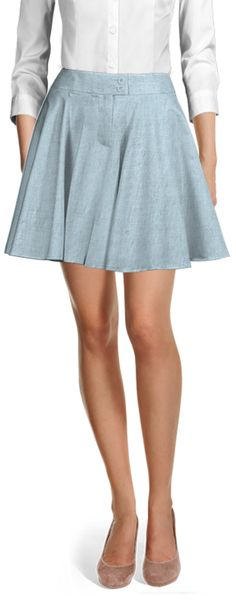 Customized by you, and made to fit your unique measurements Casual Skirts, Suits For Women, Custom Made, Perfect Fit, High Waisted Skirt, Shirt Dress, Female, Chic, Unique