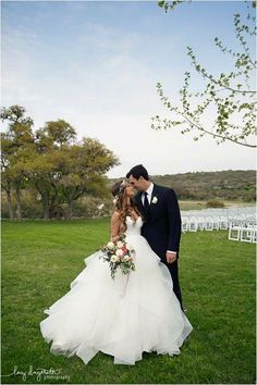 Beautiful Outdoor Wedding Photos | Happy H Ranch in Comfort, TX
