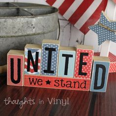 Mini Seasonal Blocks {United}