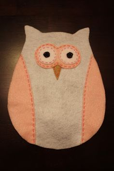 Our Happily Ever After: DIY Stuffed Felt Owls