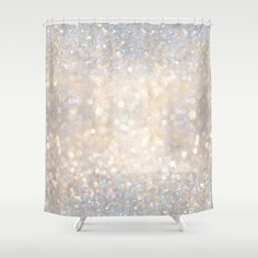 Buy Shower Curtains featuring Glimmer of Light II  Ombr  Glitter Abstract   by soaringGold and silver glitter shower curtain  ammaaazzzing   for my  . Silver And Gold Shower Curtain. Home Design Ideas