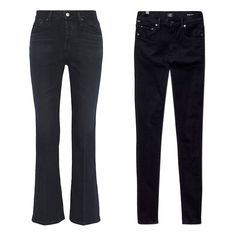 From Leather to Leggings, 5 Pairs of Black Pants Every Woman Should Own - The Weekender - Alexa Chung for AG Jeans Revolution cropped high-rise boot-cut jeans, $140, net-a-porter.com; Citizens of Humanity Rocket Axel, $178, aritzia.com