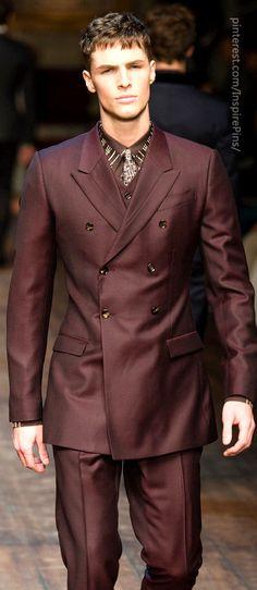 Fall 2014 Menswear Dolce & Gabbana | LBV ♥✤ | KeepSmiling | BeStayHandsome