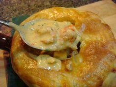 Crawfish Pot Pie.