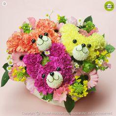 Conejitos. Mascotas florales.|  Para eventos infantiles, lindos.