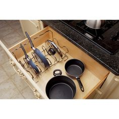 Rev-A-Shelf�17.50-in W x 12-in D x 8.75-in H 1-Tier Metal Pull Out Cabinet Basket