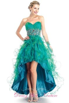 Colors Dress 0858 terrific ruffled #high dress #ColorsDressDesign