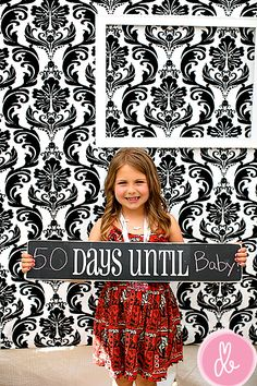 Fun sign for counting down to fun events. We would love this here....we are always making countdown chains.