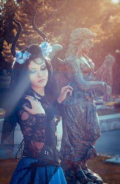 "gothic-culture: "" Model: Mysteria Violent Facebook Tumblr """