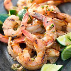 Grilled Shrimp with Vietnamese Vinaigrette.
