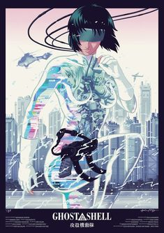 「攻殻機動隊」(kokaku kidotai) Ghost in the Shell - Community hub. All things cyberpunk, future tech, or philosophical, relatable to Ghost in the Shell. Cyberpunk Kunst, Cyberpunk 2077, Manga Anime, Anime Art, Character Art, Character Design, Masamune Shirow, Motoko Kusanagi, Ex Machina