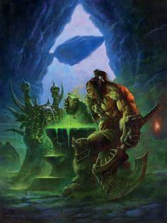 #warcraft #orc #demoniste #warlock #guldan #grommash #hurlenfer #hellscream