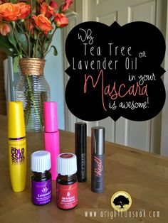 a righteous oak: Why Tea Tree or Lavender Oil in your Mascara is awesome!